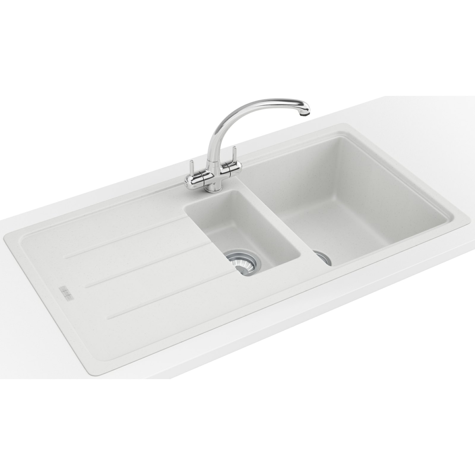 Franke Fragranite Sink Review : Franke Basis Propack BFG 651 Fragranite Polar White Sink And Tap 114 ...