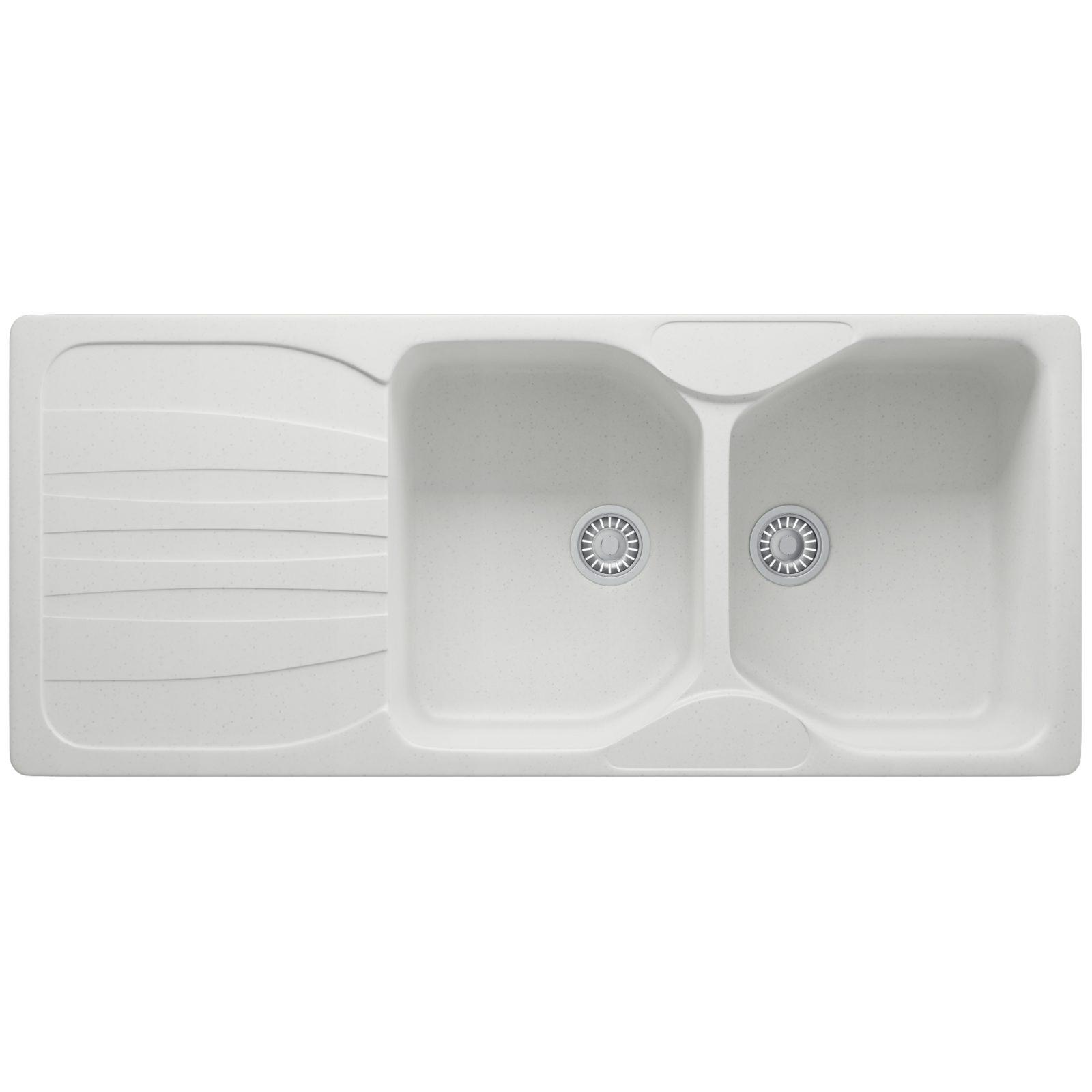 Franke Polar White Calypso Cog Kitchen Sink