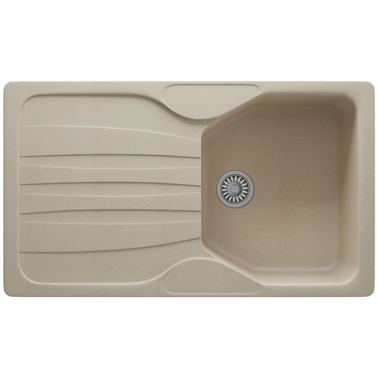 Franke Calypso Sink : Franke Calypso COG 611 Fragranite Coffee 1.0 Bowl Kitchen Inset Sink ...