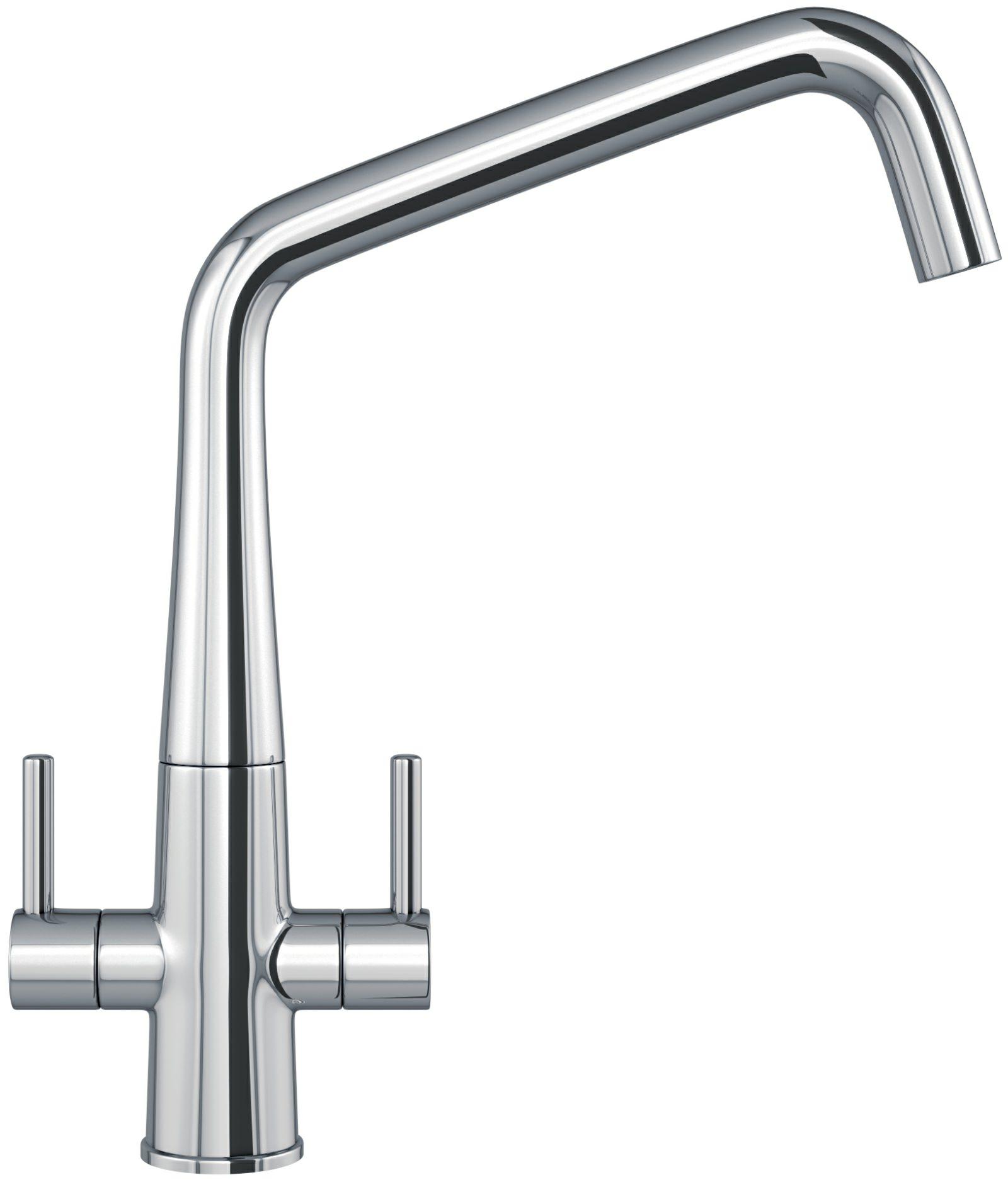 franke cristallo chrome kitchen sink mixer tap 115 0433 941