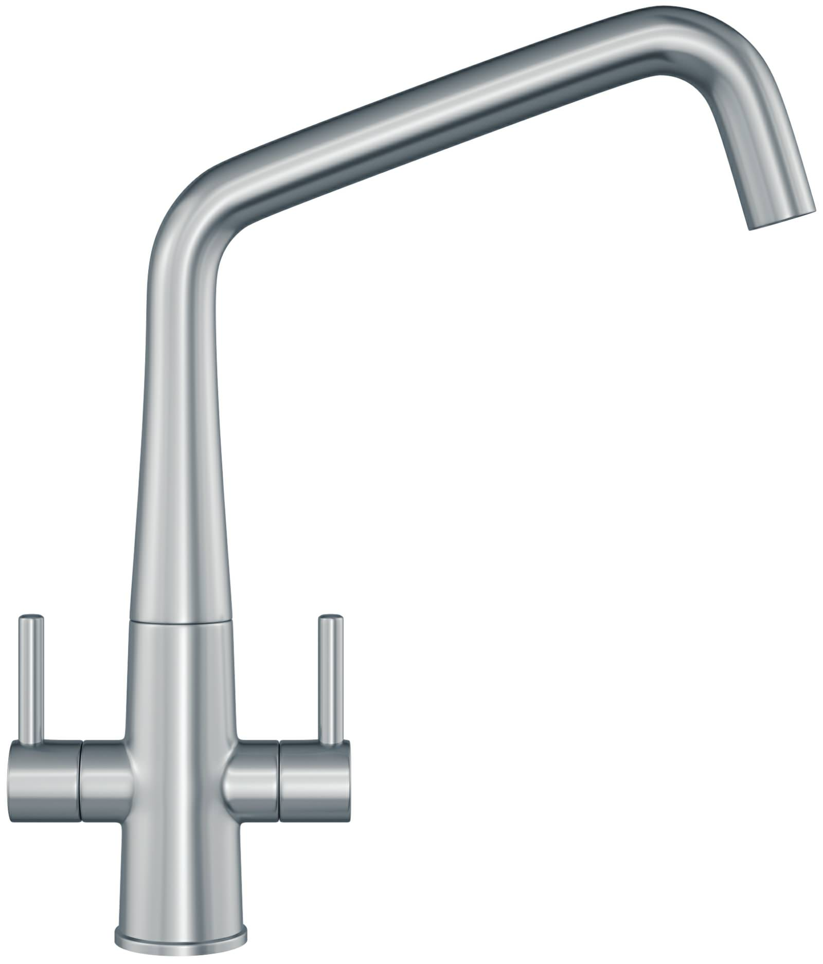 Franke Sink Mixer Taps : ... taps kitchen mixer taps franke cristallo silksteel kitchen sink mixer