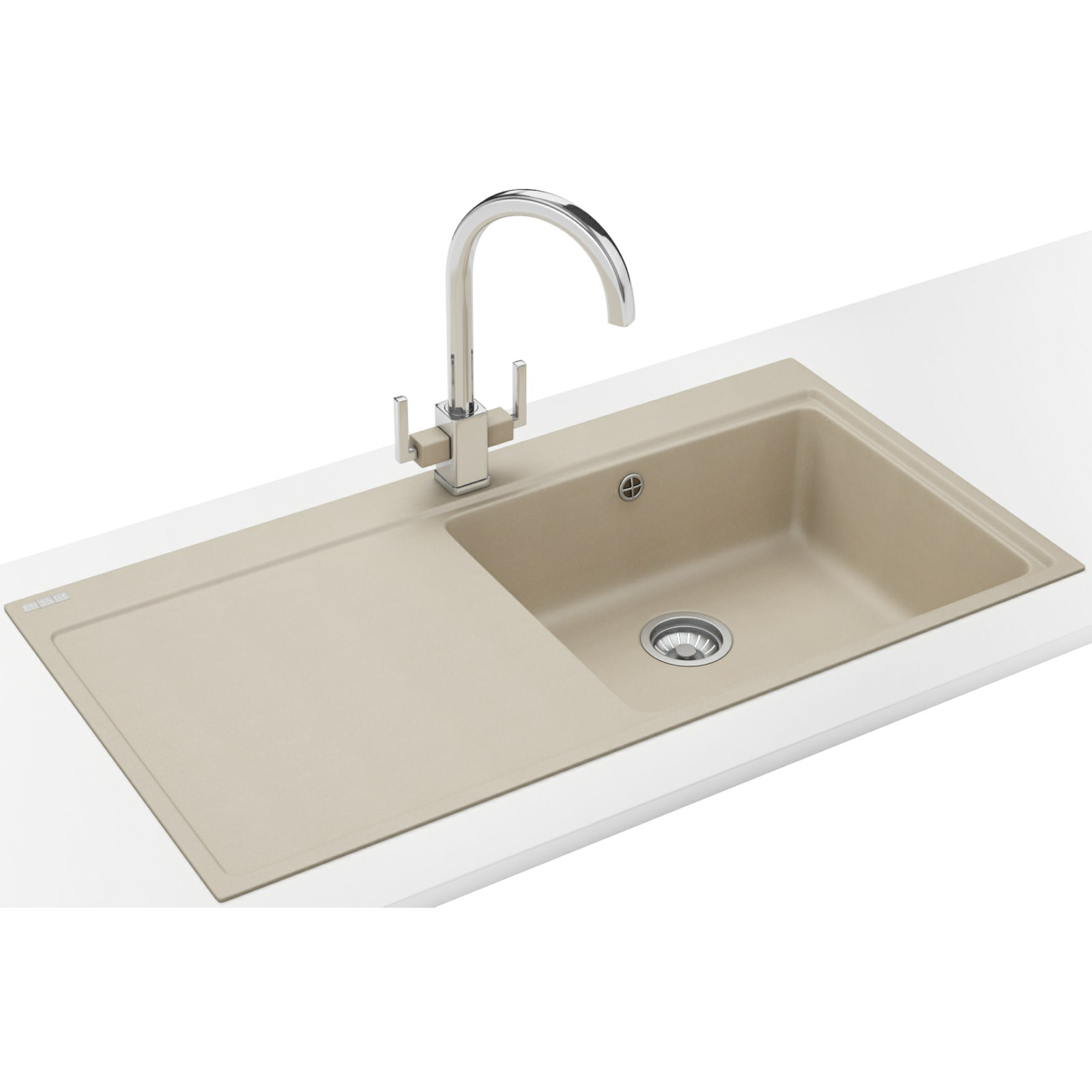 Franke Mythos Designer Pack MTG 611 Fragranite Coffee Kitchen Sink And ...