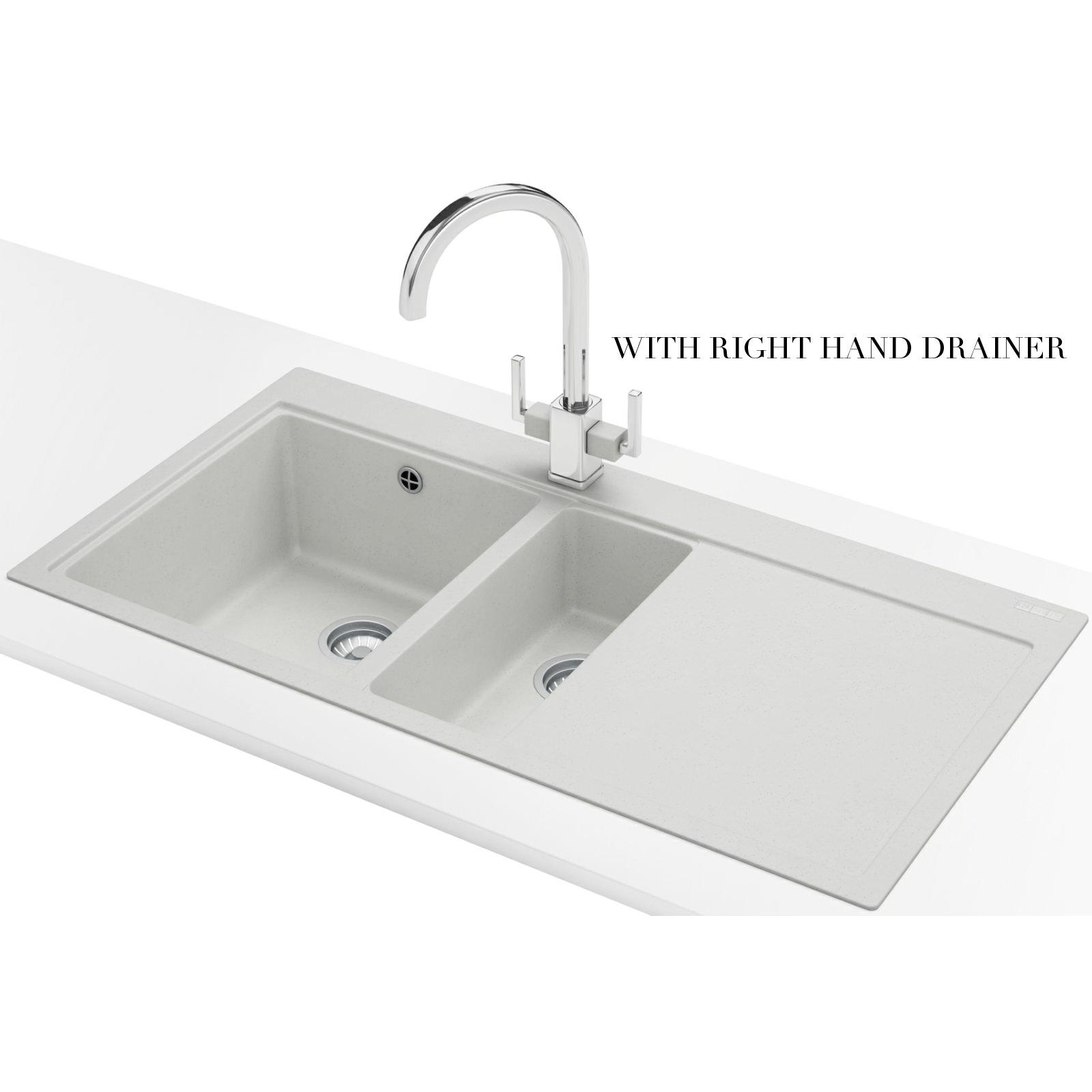 Franke Fragranite Sink Review : ... Franke Mythos Designer Pack MTG 651-100 Fragranite Polar White Sink