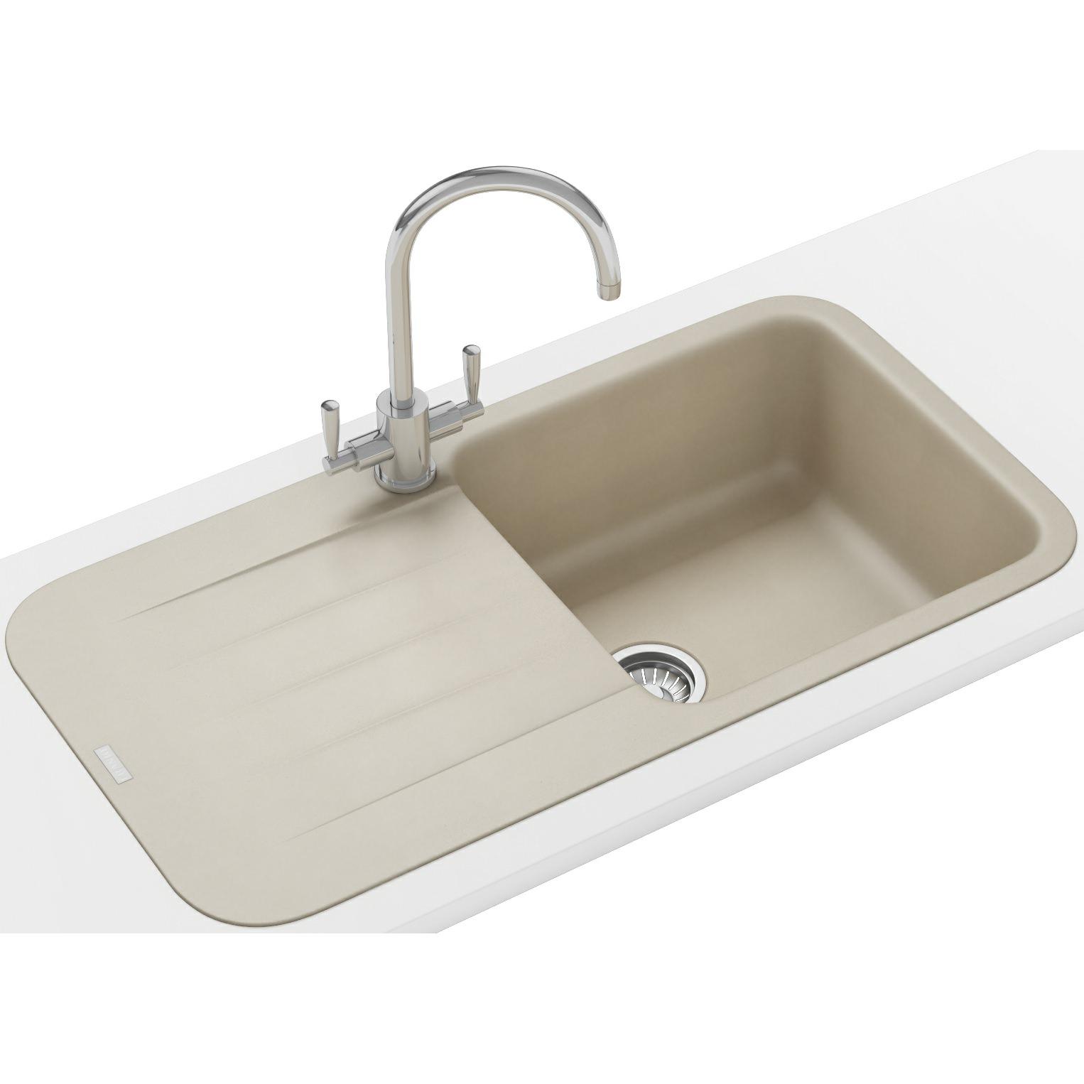 Franke Inset Sink : Franke Pebel DP PBG 611-970 Fragranite Coffee Inset Sink And Tap 114 ...