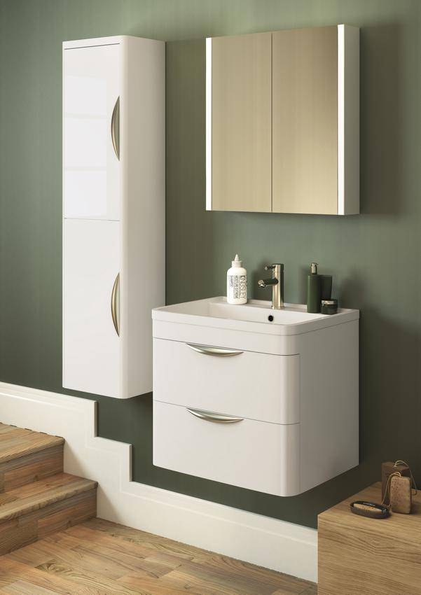 Lauren Parade Wall Hung Drawer Cabinet And Basin