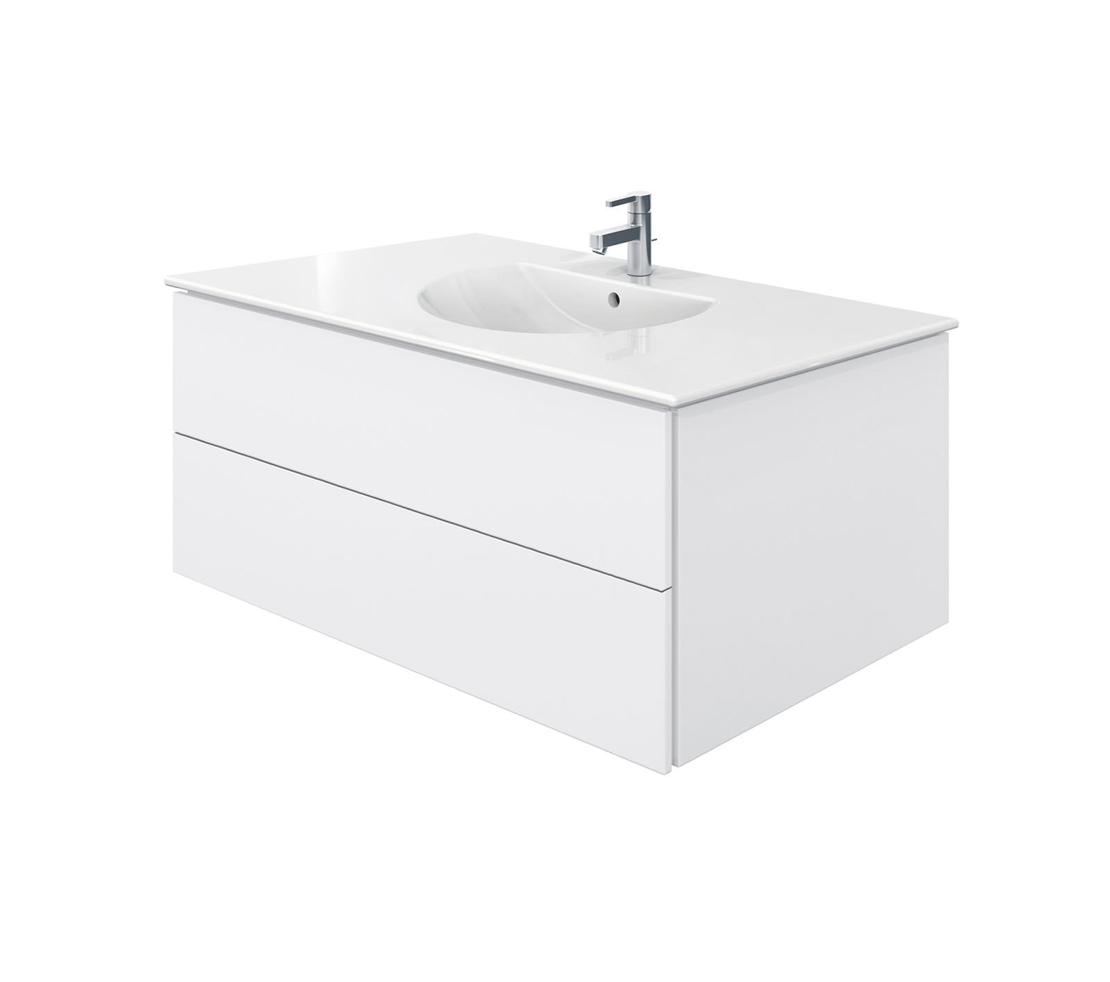 duravit delos 2 drawers unit with darling new 1030mm basin