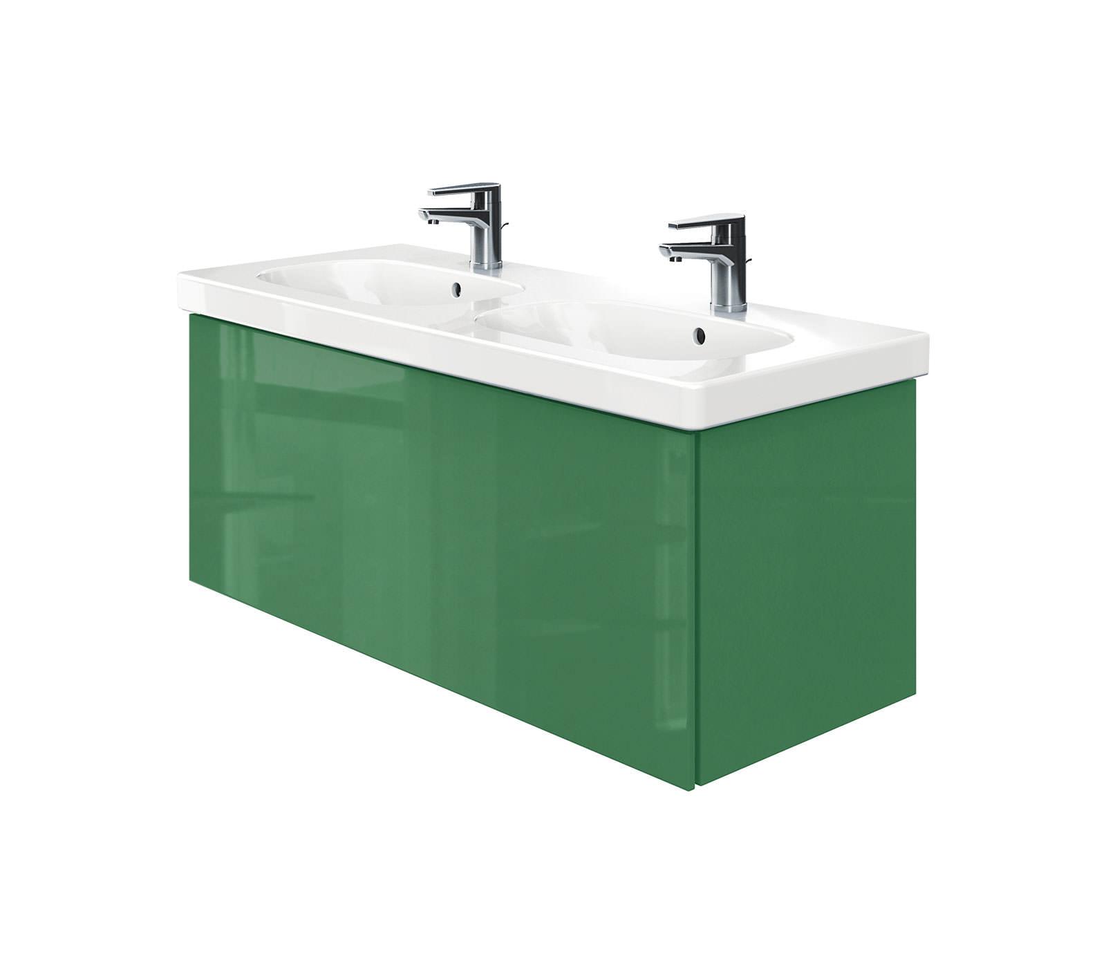Duravit delos 1 compartment unit with d code 1200mm basin - Duravit bathroom furniture uk ...