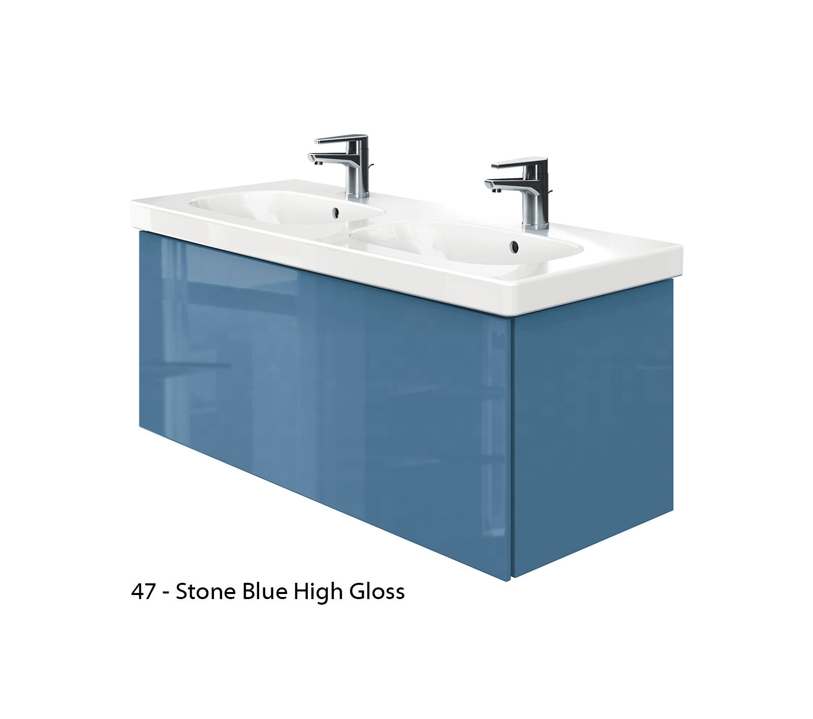 Duravit Delos 1 Compartment Unit With D-Code 1200mm Basin - Jade ...