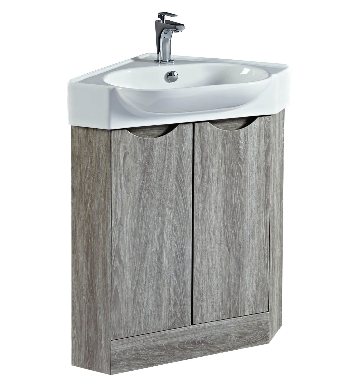 Corner Basin And Vanity Unit : ... vanity units phoenix dakota 510mm corner vanity unit and basin avola