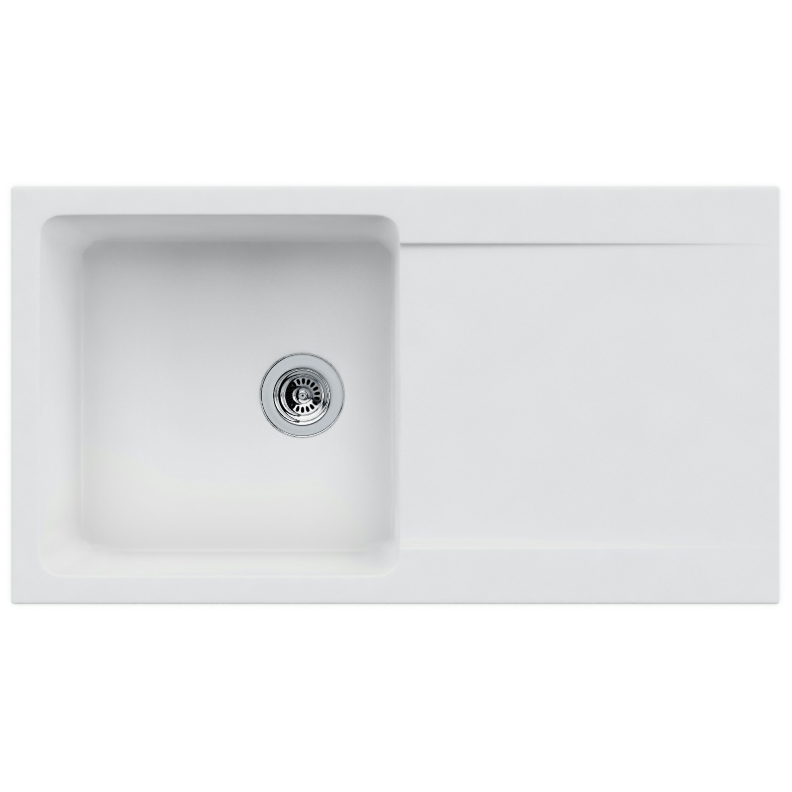 Franke Sink And Tap Packages : Franke Orion Propack OID 611-94 Tectonite Polar White Sink And Tap ...