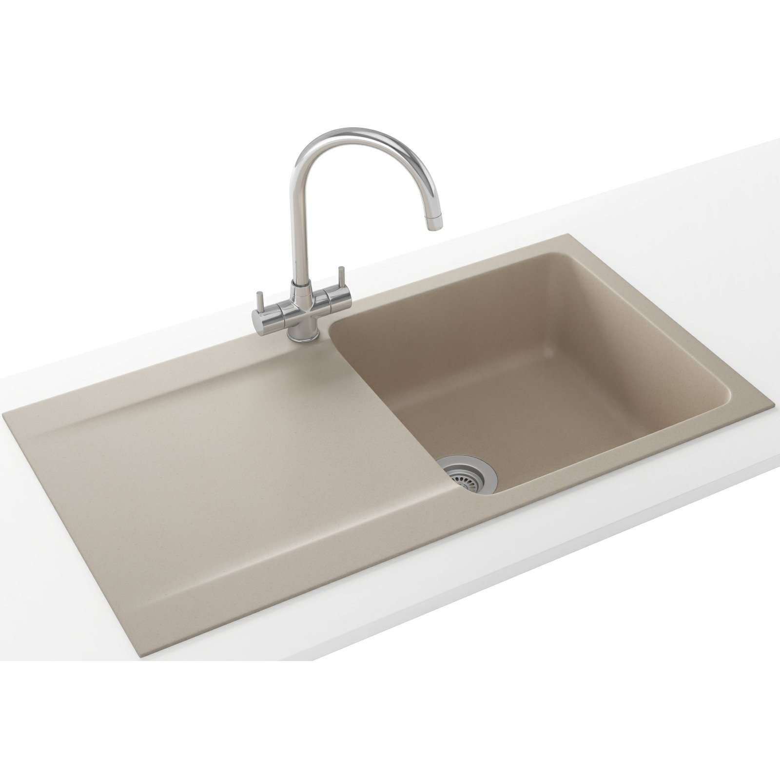 Franke Sinks And Taps : Franke Orion Propack OID 611-94 Tectonite Coffee Sink And Tap 114 ...