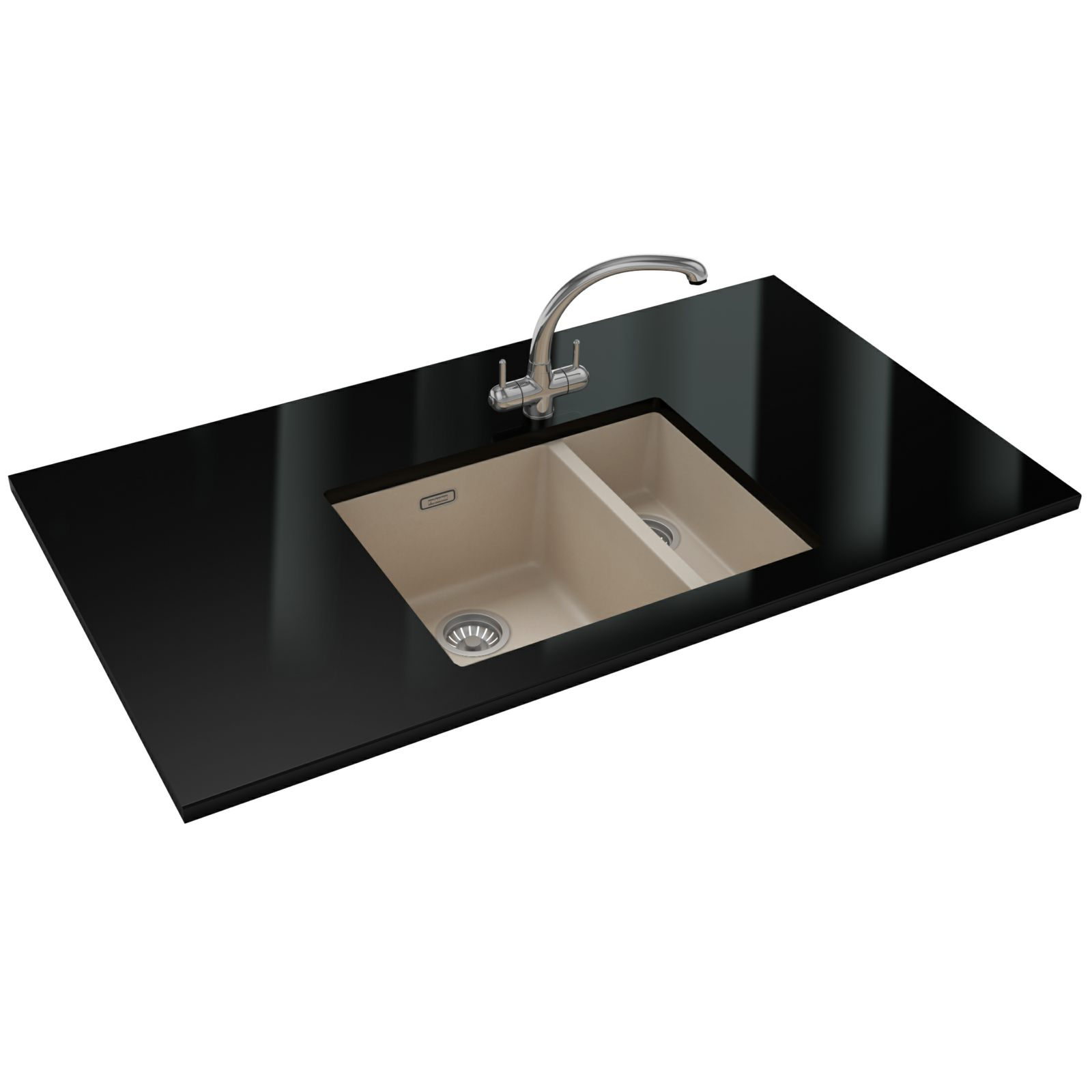 Franke Sinks And Taps : Franke Sirius Propack SID 160 Tectonite Coffee Sink And Tap 125.0252 ...