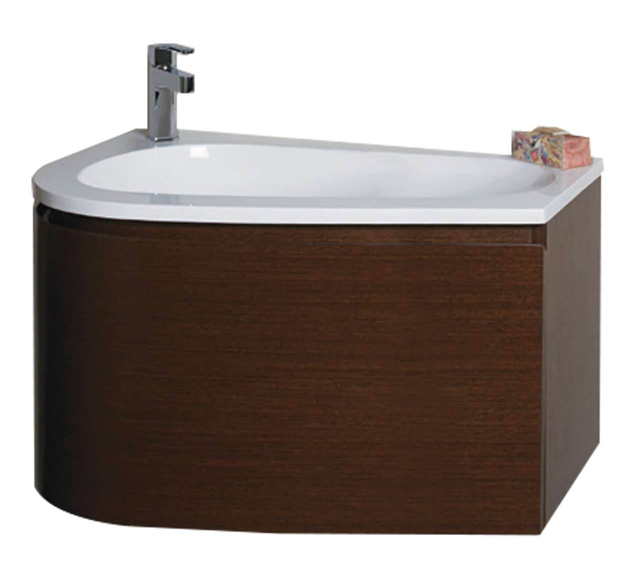 Cool  Wenge With Resin Basin  Classic Bathroom Cabinet Wenge With Inset