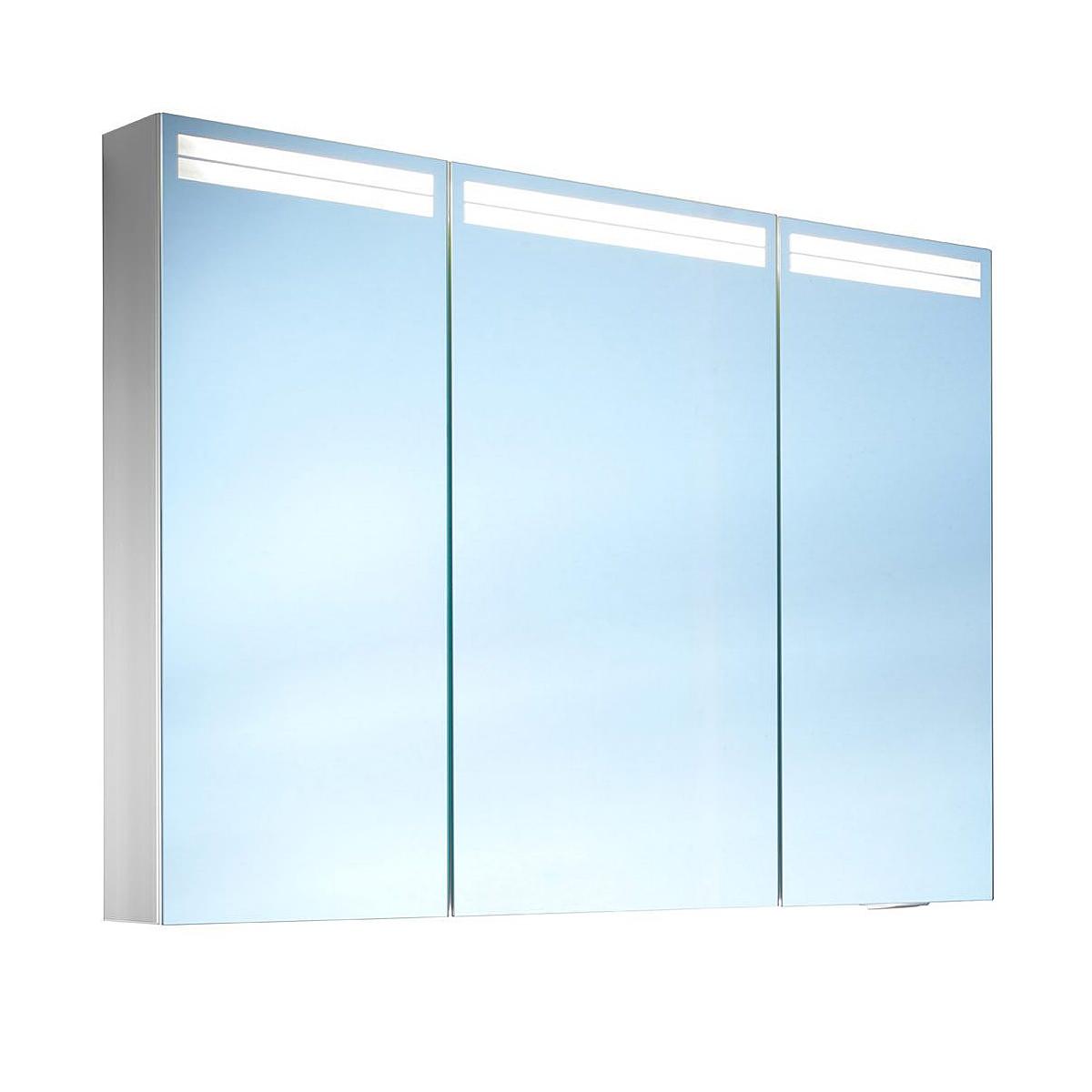 Value Kitchen Cabinets Schneider Arangaline 3 Door Mirror Cabinet 1000mm