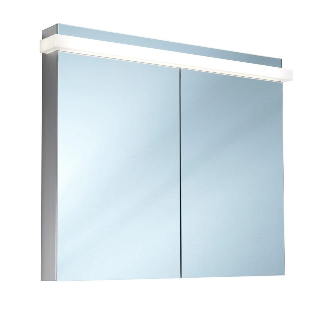 Schneider taikaline 2 door 1000mm mirror cabinet for Bathroom mirror cabinets 900mm and 1000mm