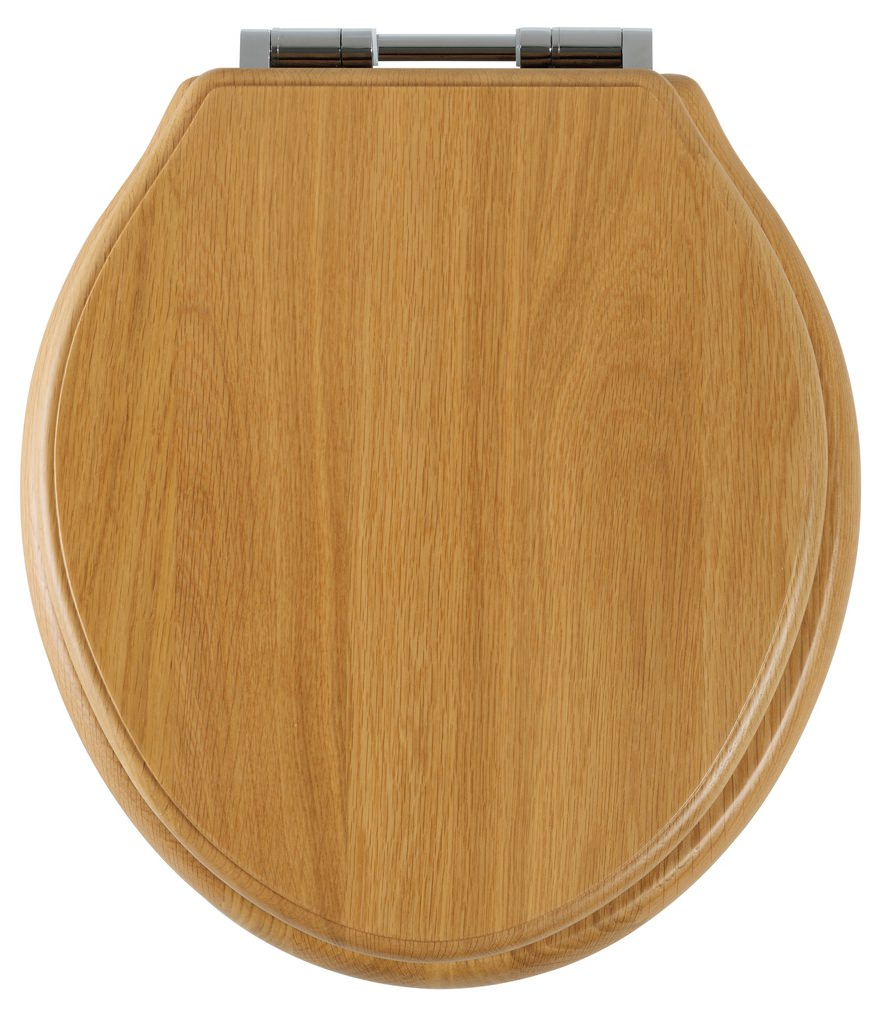 wooden toilet seat hinges. Roper Rhodes Greenwich Natural Oak Solid Wood Toilet Seat  8099NOSC