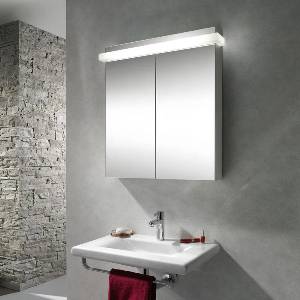 Schneider Taikaline 2 Door 785mm High Mirror Cabinet