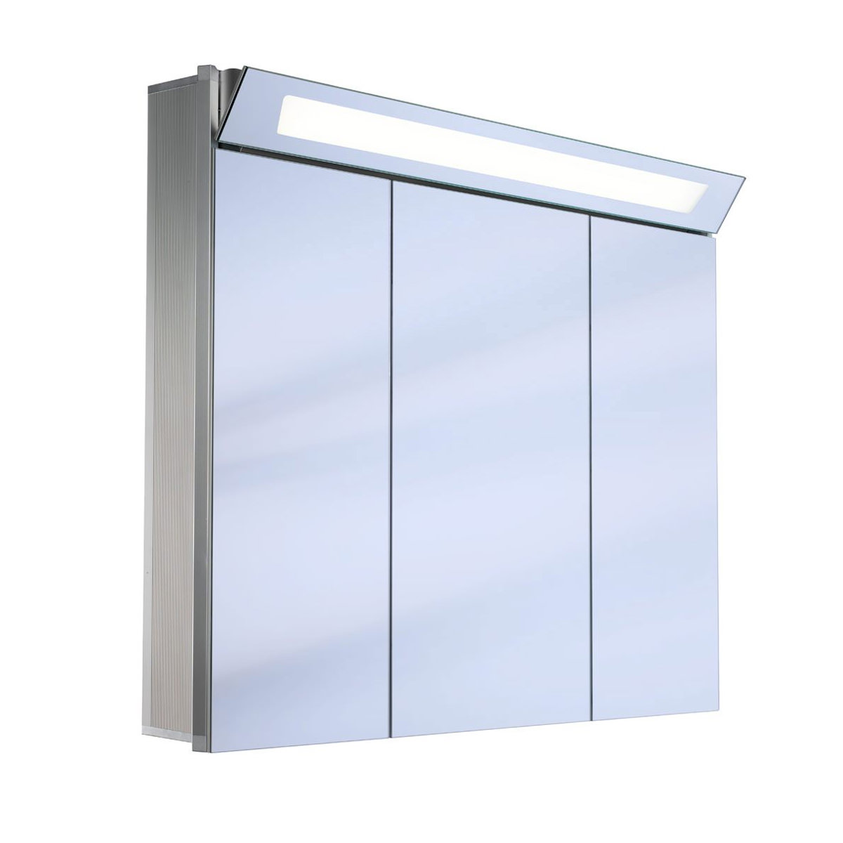 schneider capeline 3 door illuminated mirror cabinet 1000mm