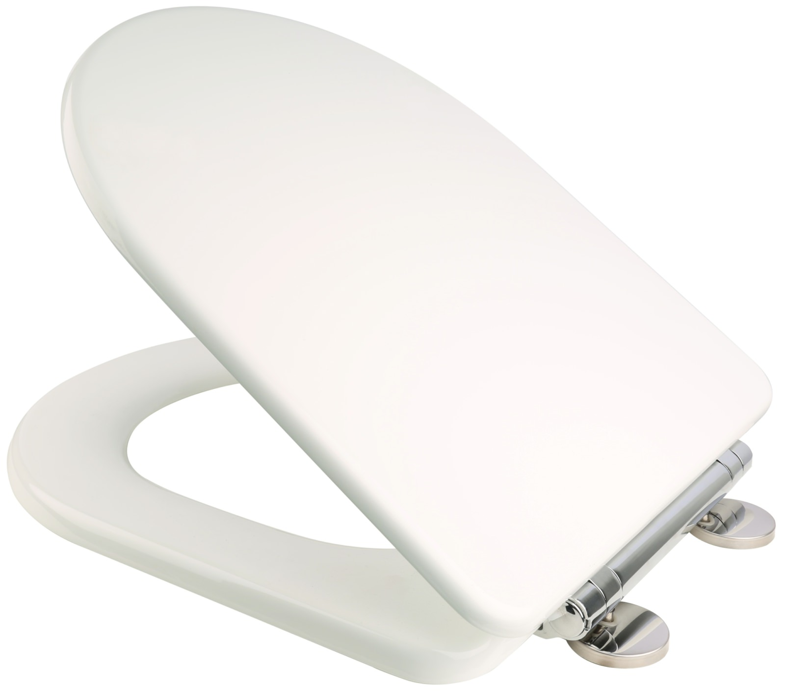 Duravit Happy D Solid Wood Replacement Toilet Seat And