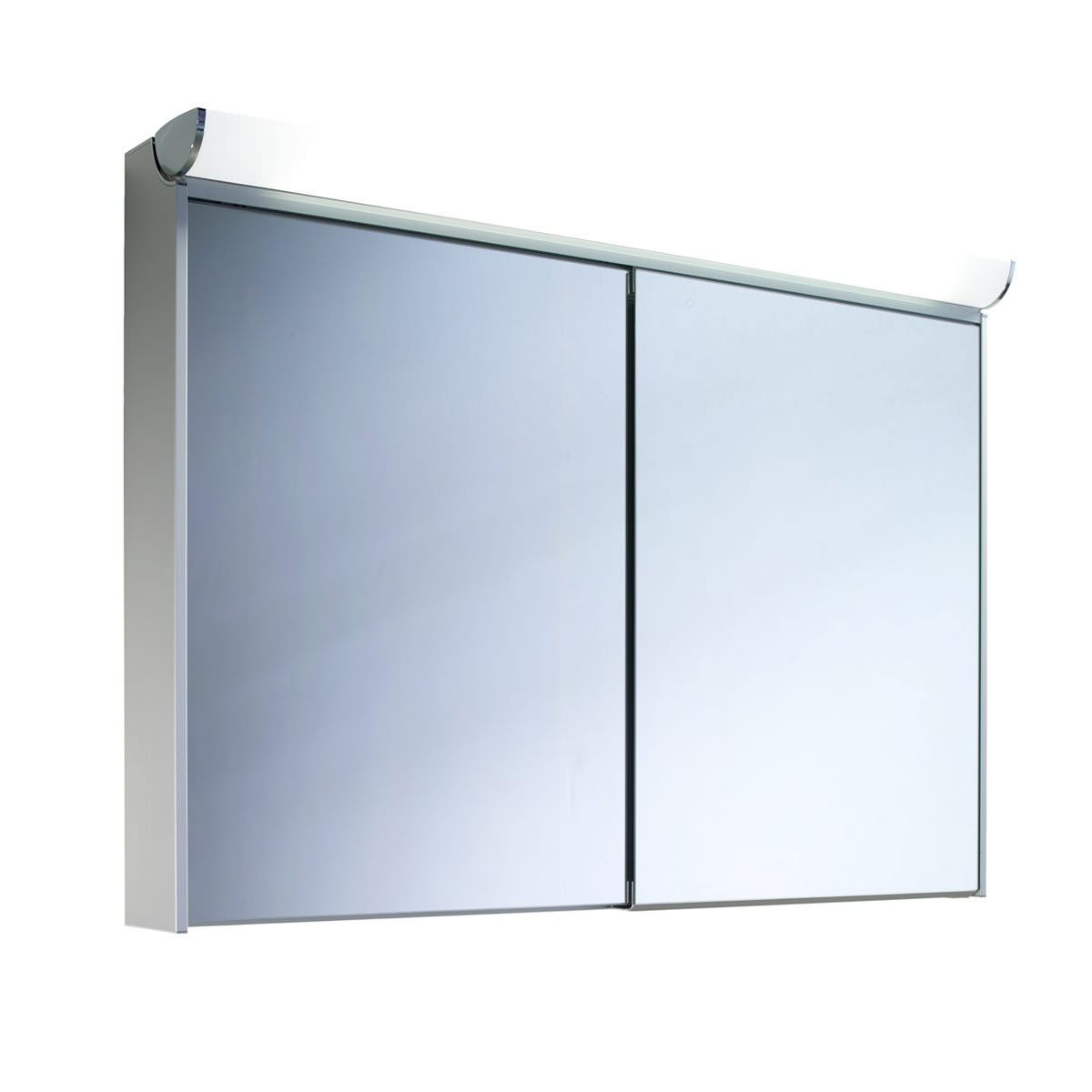 Schneider slideline 1300mm cabinet with 2 sliding mirror doors for Sliding mirror doors