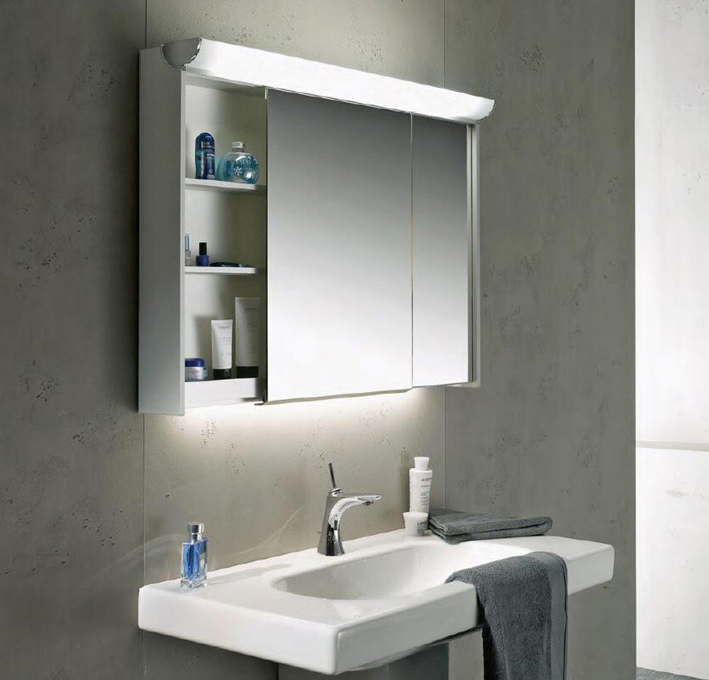 Schneider Slideline 1300mm Cabinet With 2 Sliding Mirror Doors
