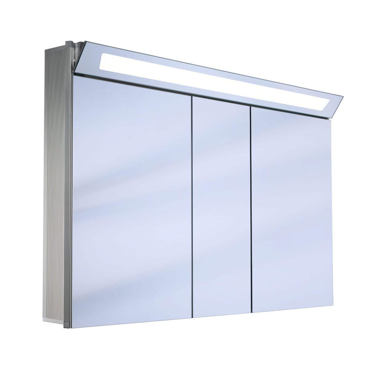 Schneider Capeline 3 Door Illuminated Mirror Cabinet 1300mm