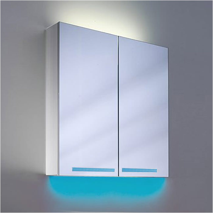 Schneider Graceline 3 Door 1300mm Mirror Cabinet With Led