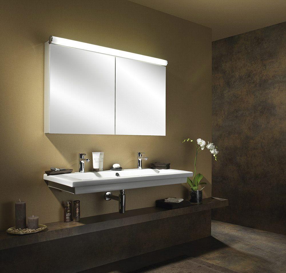 Schneider Prideline 2 Door 600mm Mirror Cabinet With