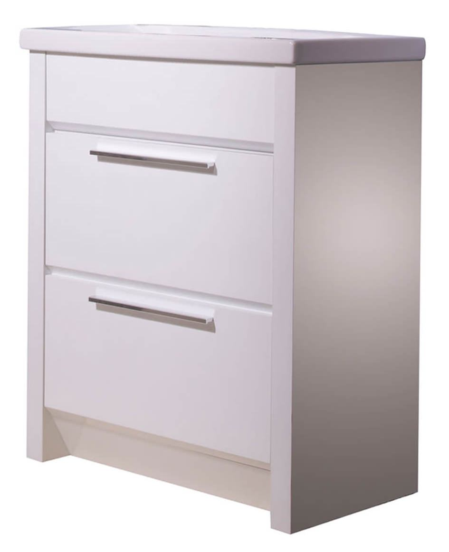 Roper Rhodes Kato 700mm White Freestanding Vanity Unit