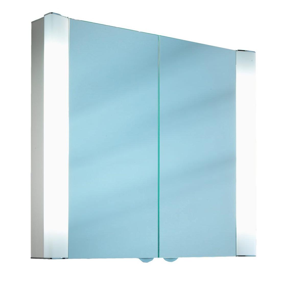 Schneider Splashline 2 Door Mirror Cabinet 800mm