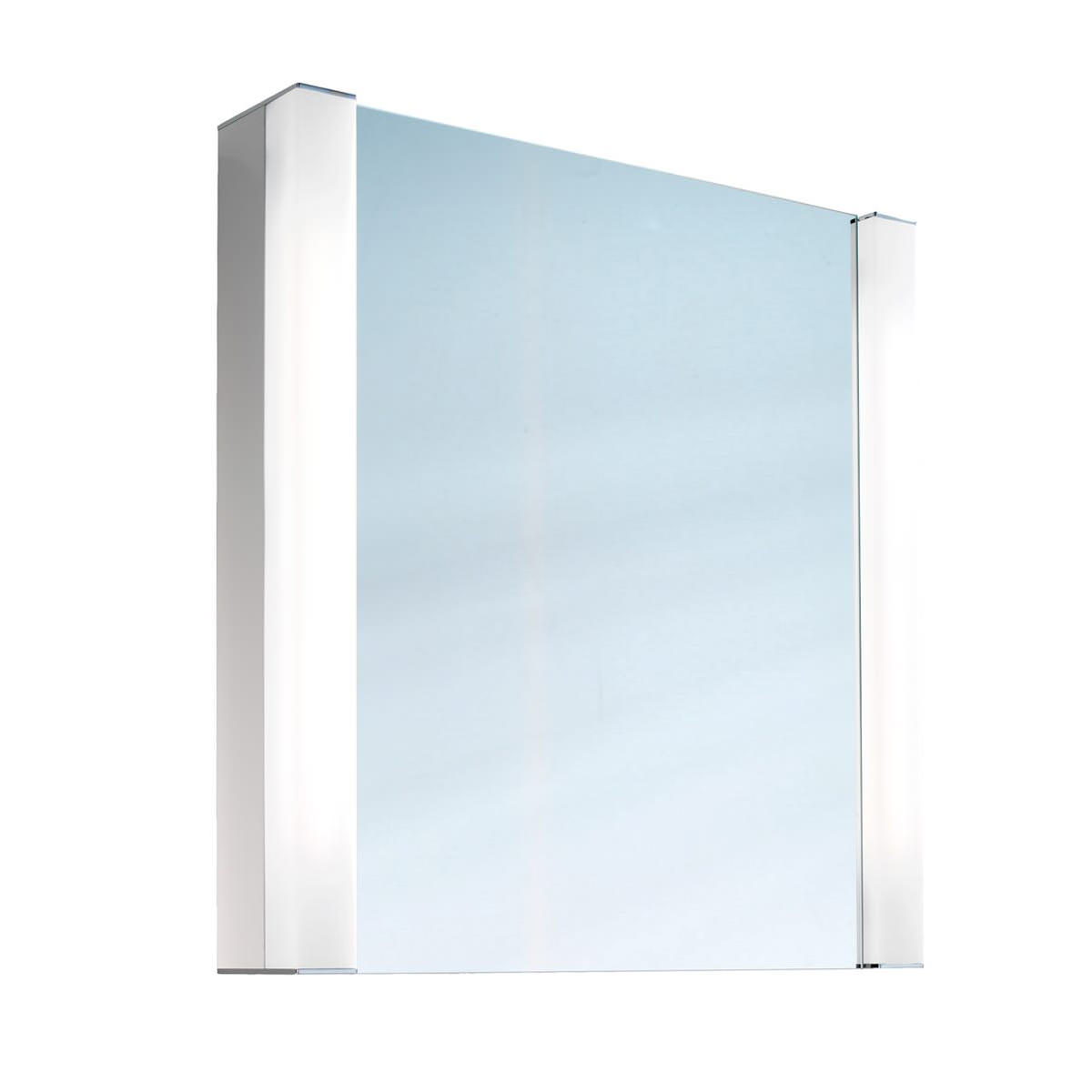 Schneider Pepline 1 Door Mirror Cabinet 600mm