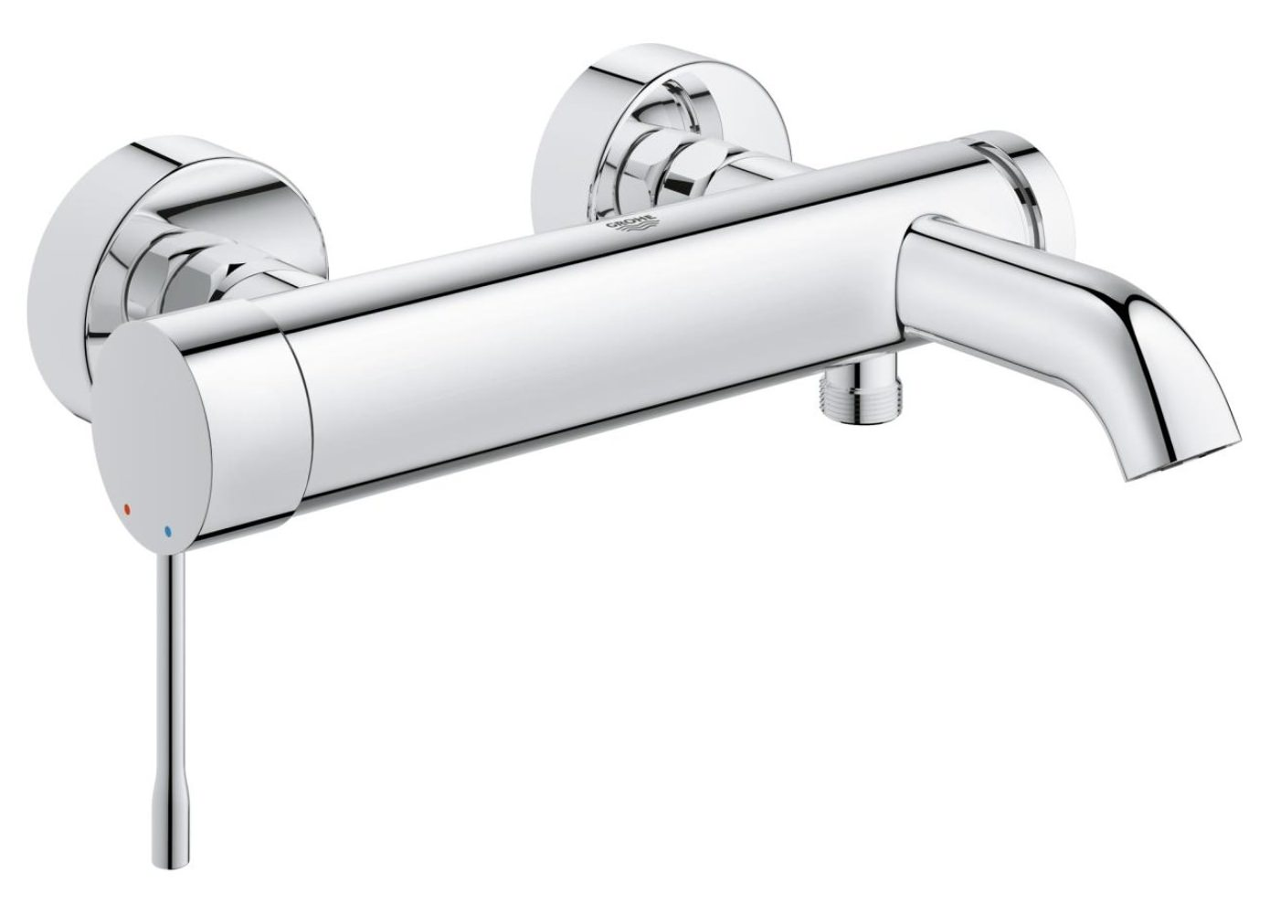 grohe essence new wall mounted bath shower mixer tap. Black Bedroom Furniture Sets. Home Design Ideas