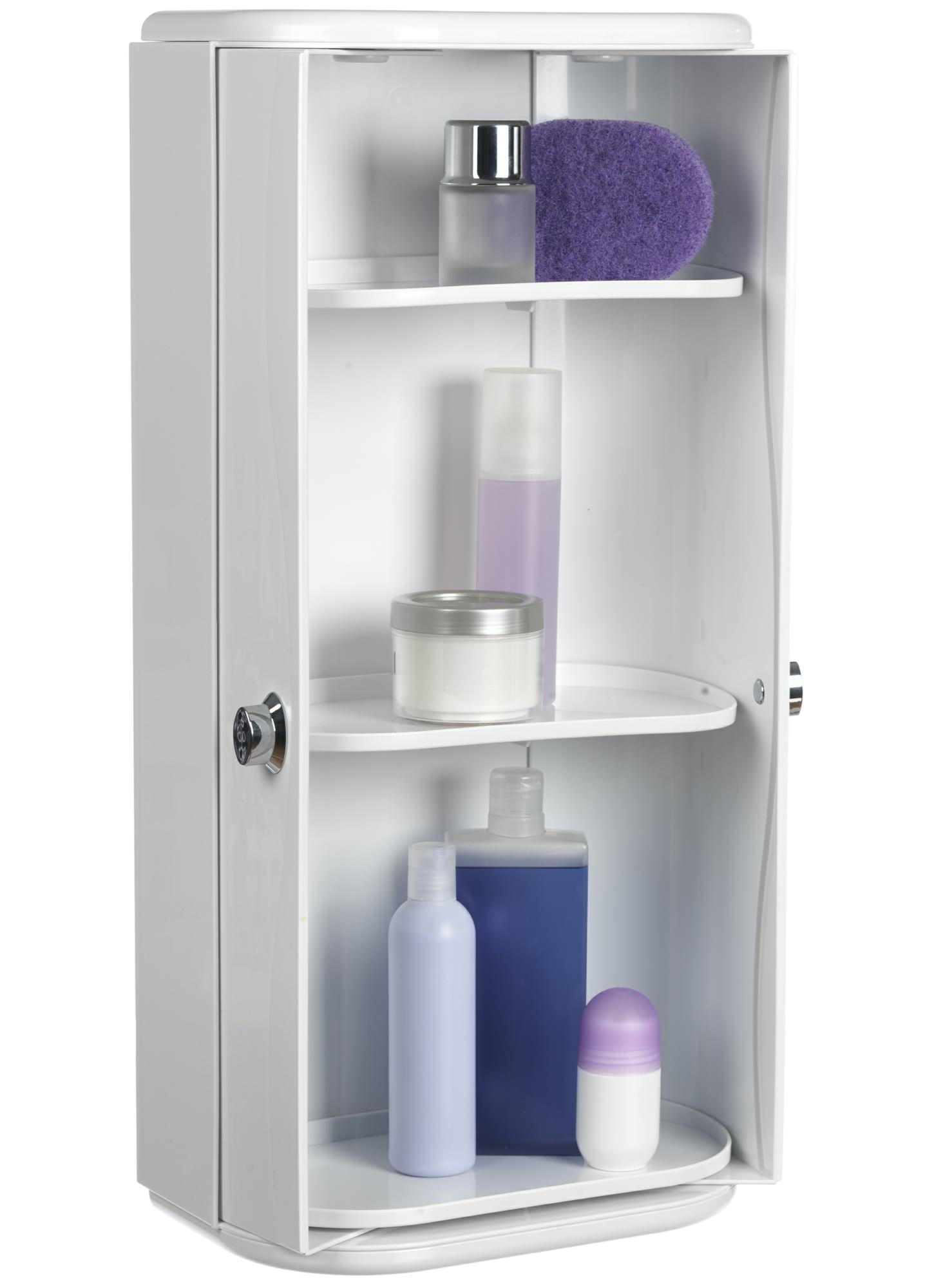 Croydex Double Door Plastic Cabinet 330 X 680mm Wc262122