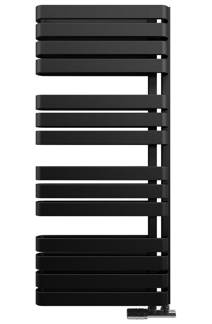 Bauhaus Gallery Svelte 500 X 1100mm Towel Warmer Black