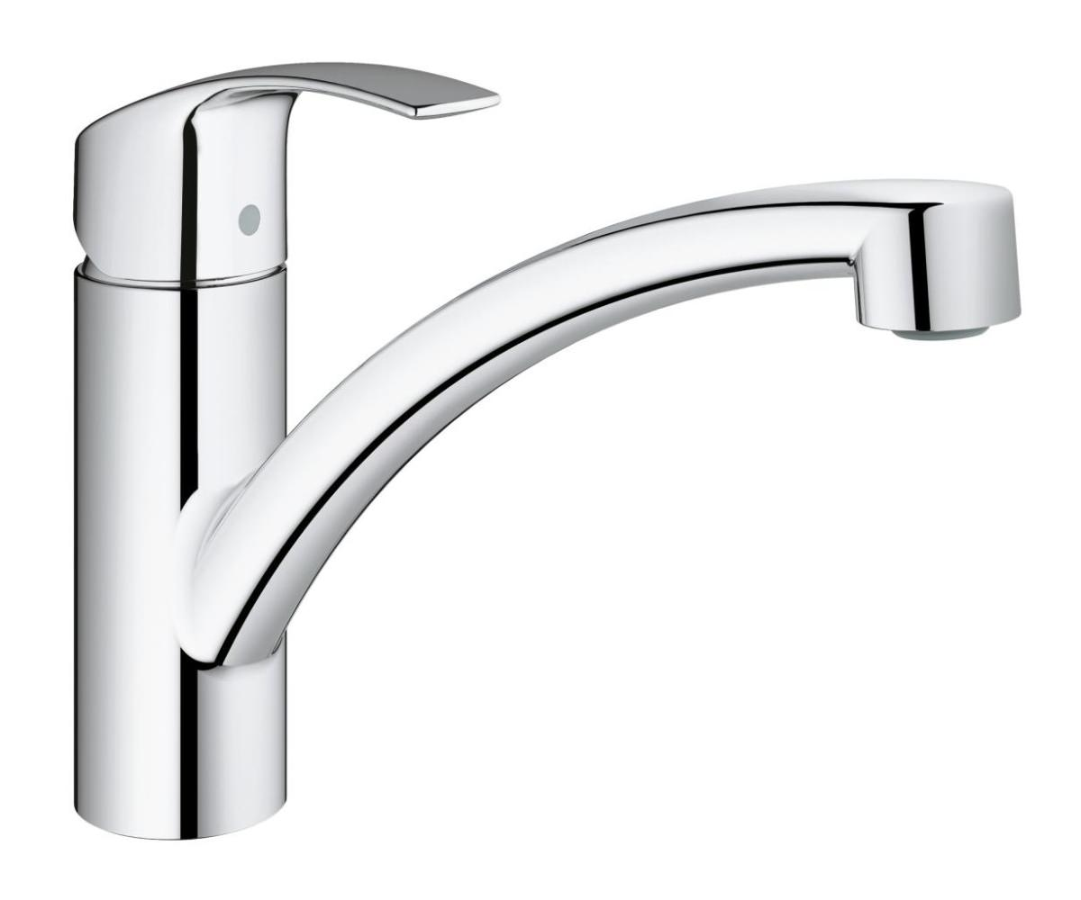 grohe eurosmart kitchen sink mixer tap chrome 3328120e. Black Bedroom Furniture Sets. Home Design Ideas