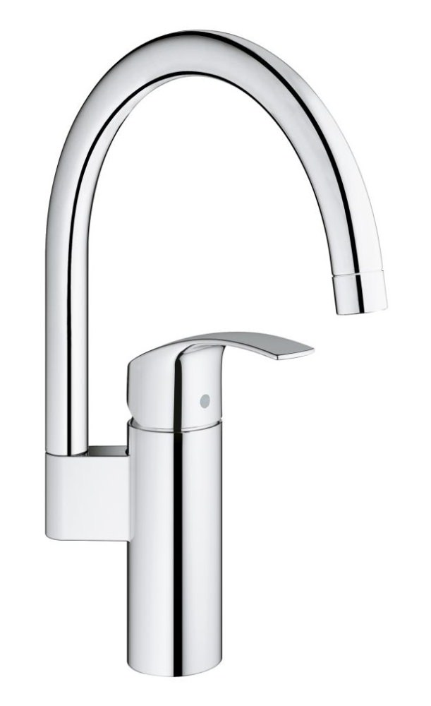 grohe eurosmart half inch single lever kitchen sink mixer tap 33202002. Black Bedroom Furniture Sets. Home Design Ideas