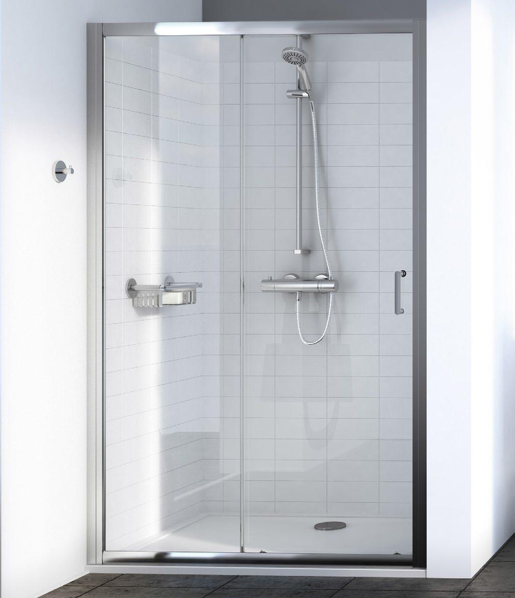 Aqualux source 1000mm sliding shower door 1192605 for 1000mm sliding shower door