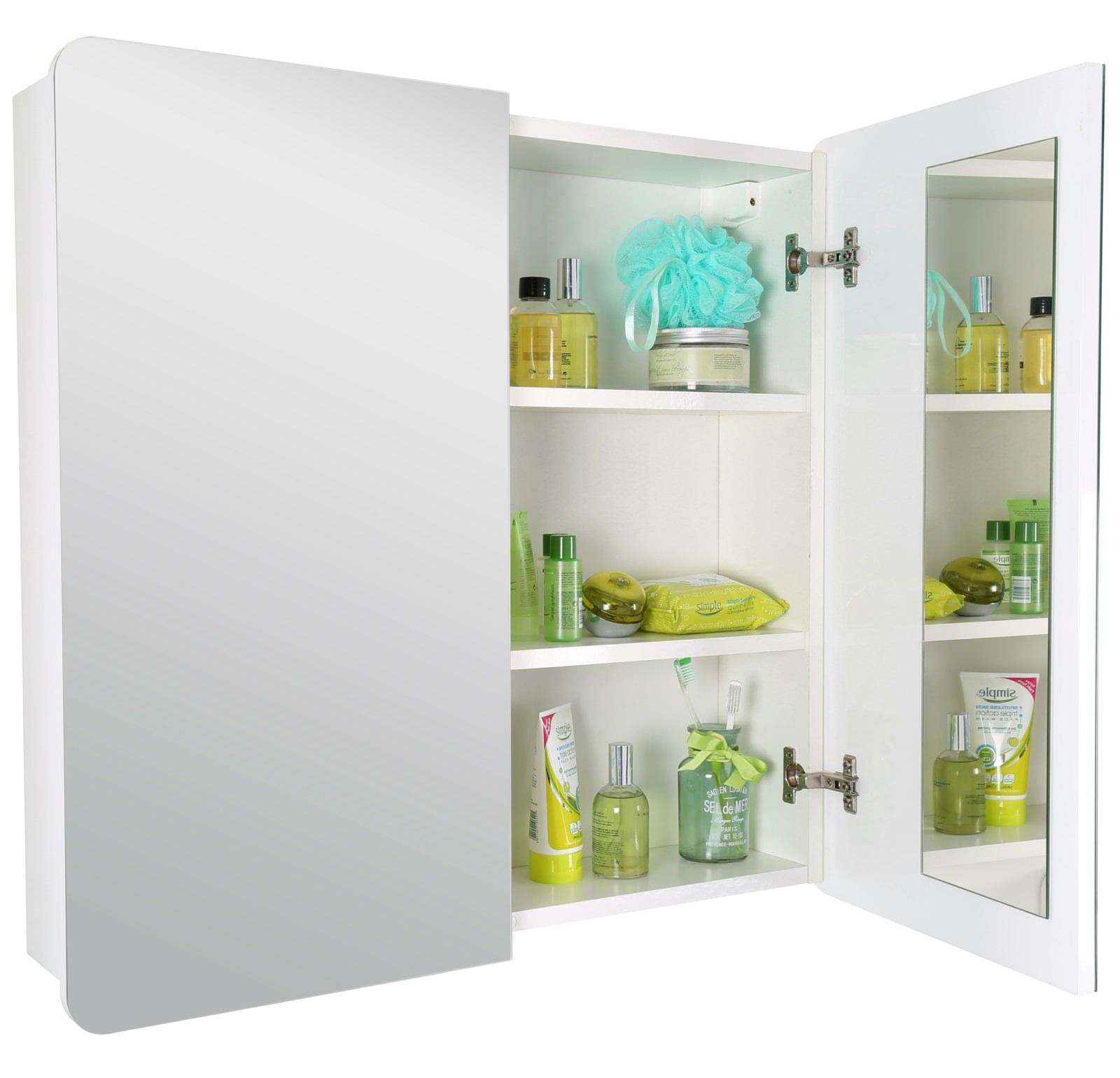 croydex ryton double door bi view cabinet wc710222