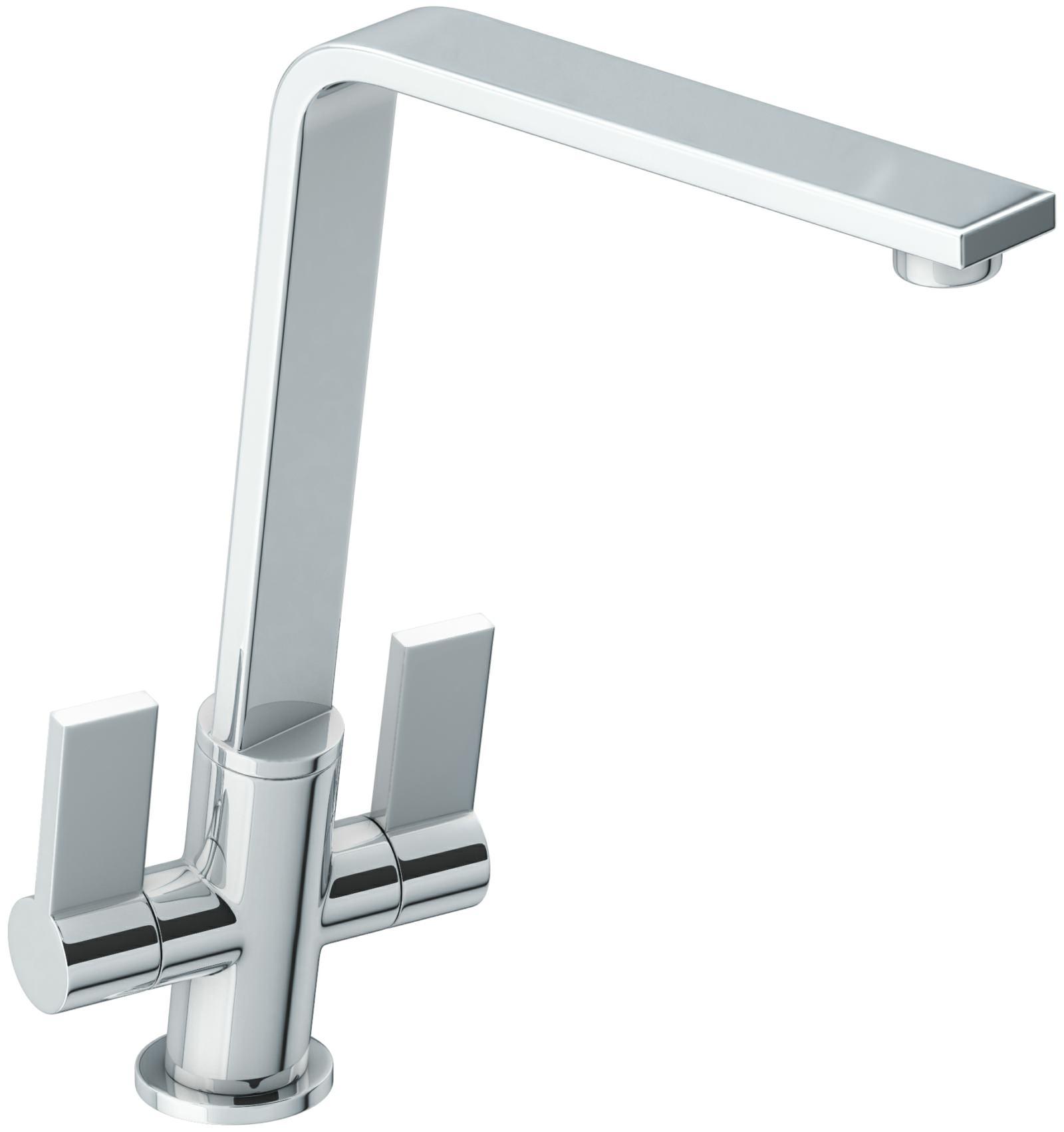 White Monobloc Kitchen Taps Abode Linear Flair Chrome Monobloc Kitchen Mixer Tap At1220