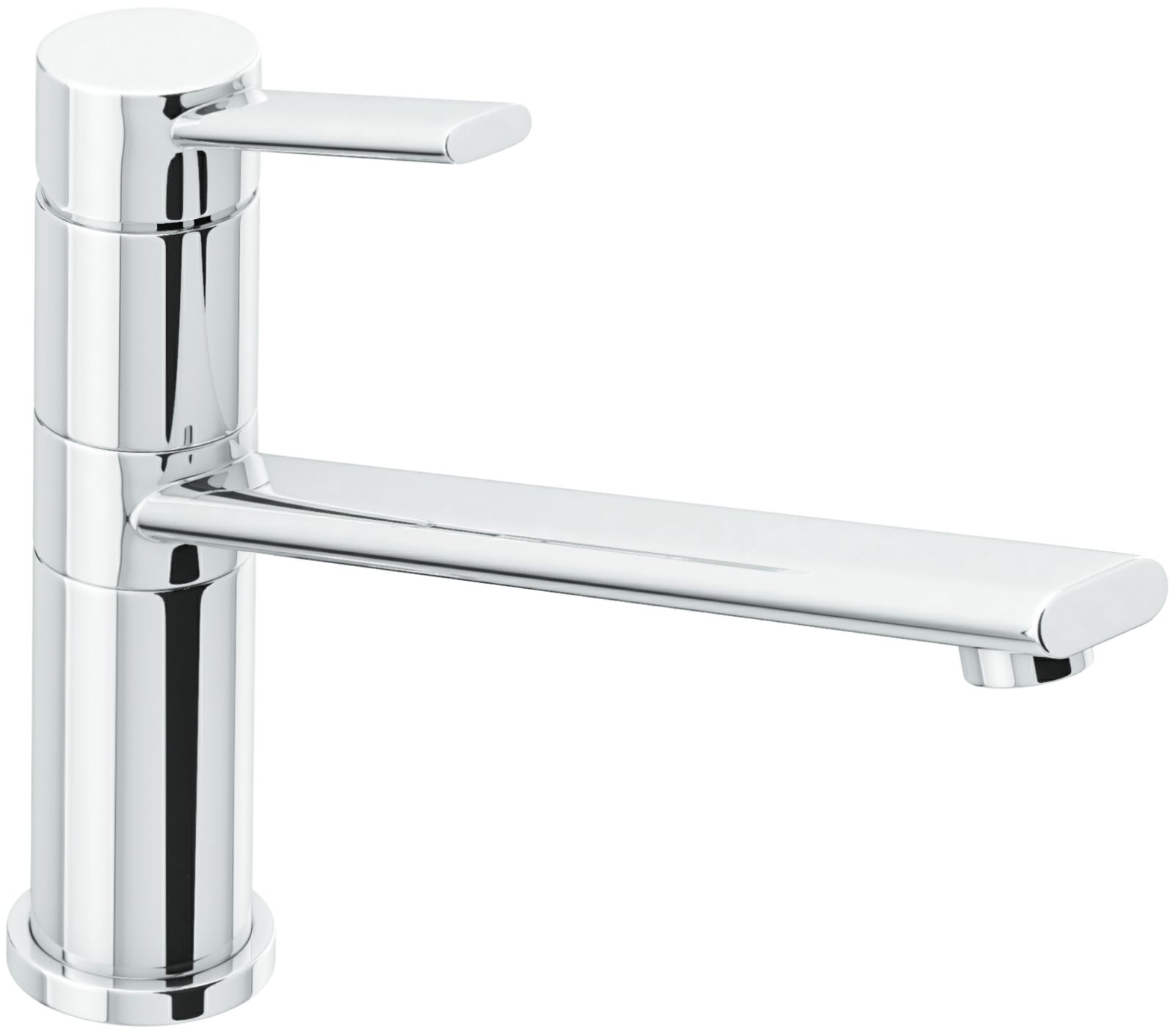 abode specto chrome single lever kitchen mixer tap. Black Bedroom Furniture Sets. Home Design Ideas