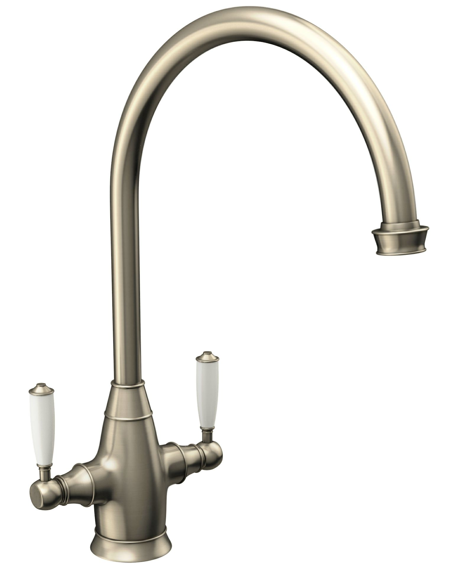 Traditional Pewter Kitchen Taps