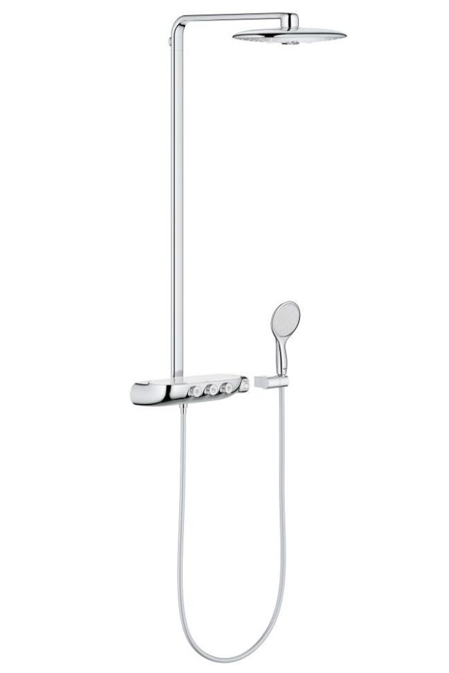 Grohe rainshower system smartcontrol 360 duo shower system with thermostat - Grohe smartcontrol 360 ...