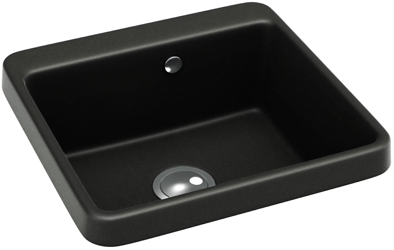 Abode Matrix Gr10 1 0 Bowl Black Granite Kitchen Sink Aw3010