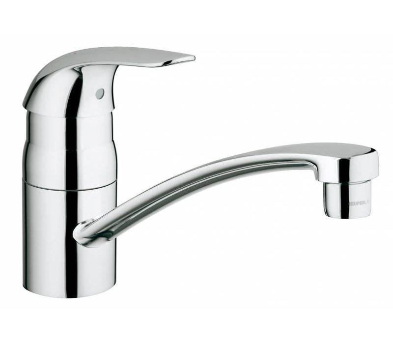 grohe euroeco single lever kitchen sink mixer tap 32750000. Black Bedroom Furniture Sets. Home Design Ideas