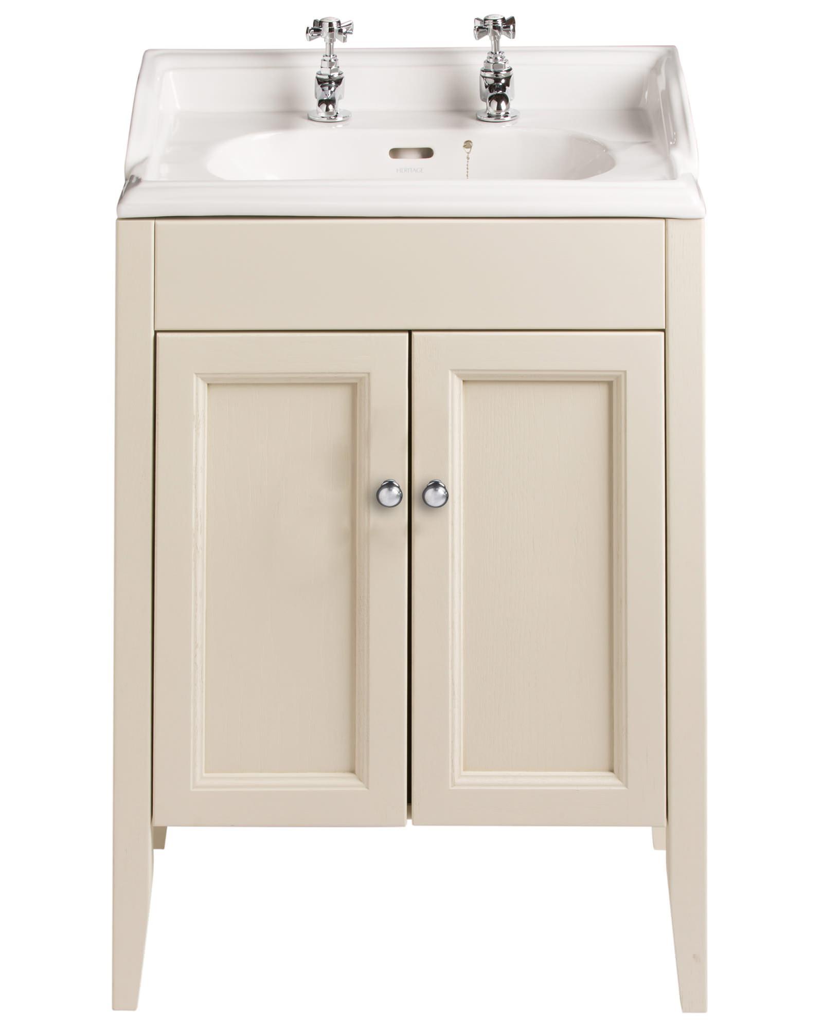 Heritage Bathroom Vanity: Heritage Caversham Oyster Vanity Unit For Dorchester