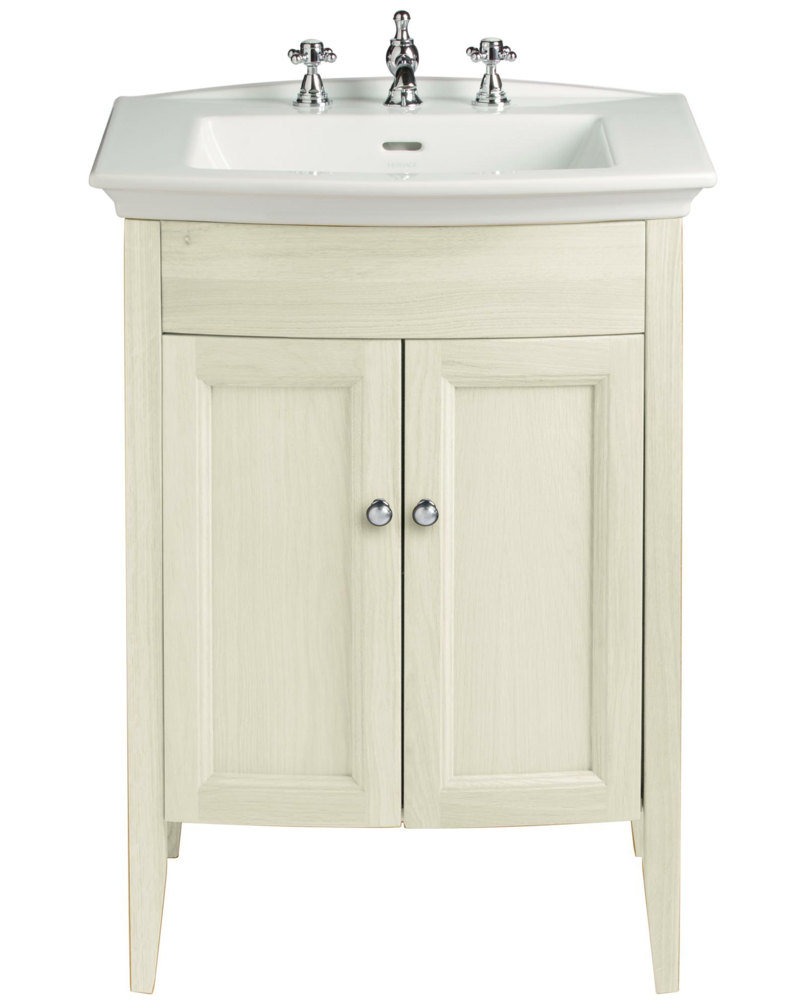 Heritage Bathroom Vanity: Heritage Caversham Oyster Vanity Unit For Blenheim Basin