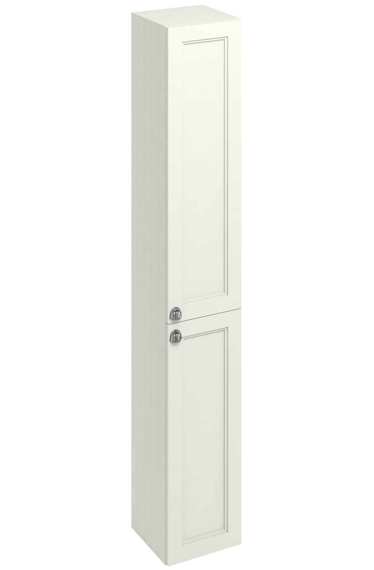 Burlington 300mm sand double door tall base unit f3ts for 300mm tall kitchen unit