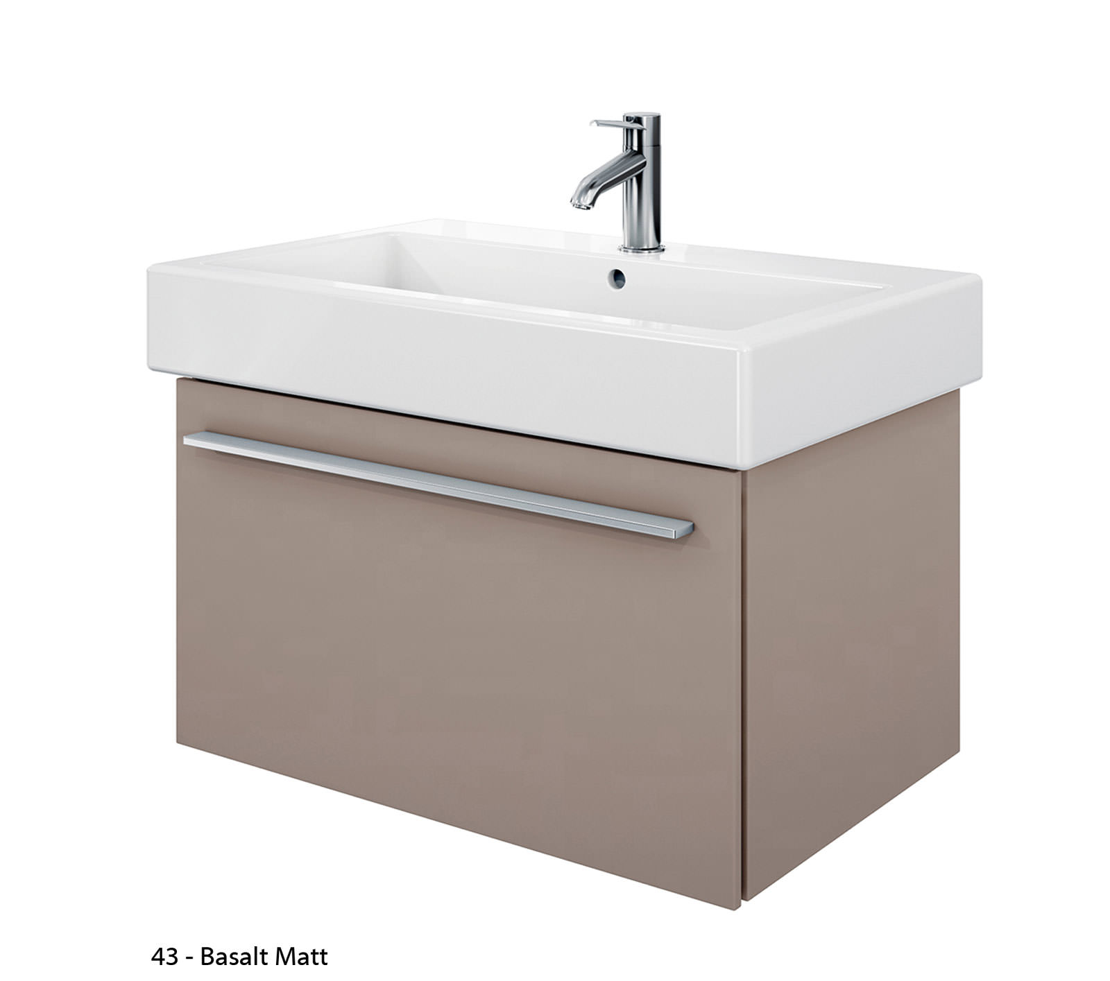 duravit x large 750mm vanity unit with 800mm vero washbasin xl6045. Black Bedroom Furniture Sets. Home Design Ideas