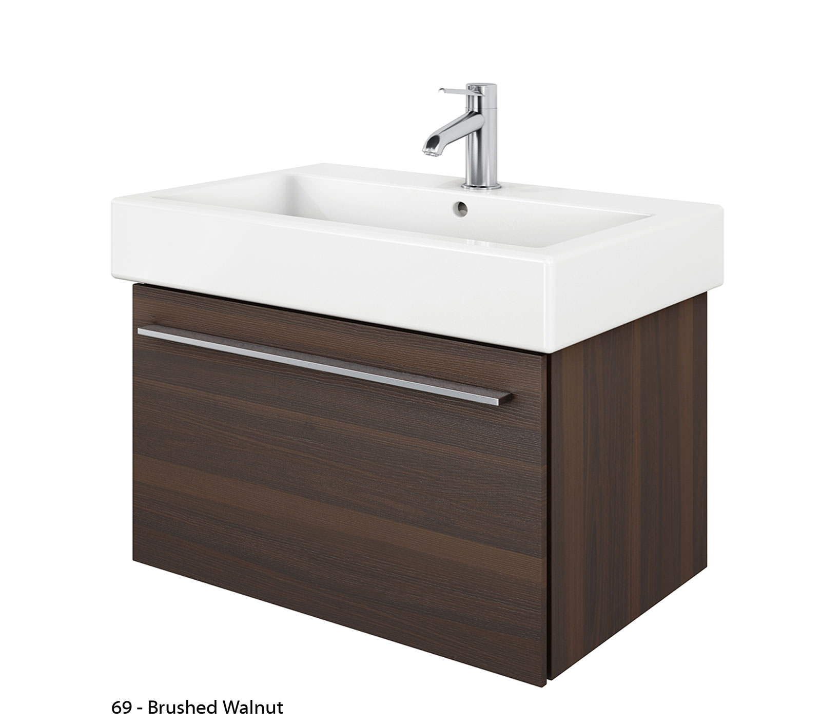 duravit x large 750mm vanity unit with 800mm vero. Black Bedroom Furniture Sets. Home Design Ideas