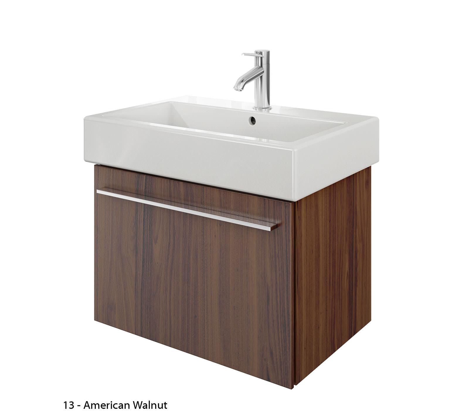 duravit x large 650mm vanity unit with 700mm vero washbasin xl604201818. Black Bedroom Furniture Sets. Home Design Ideas